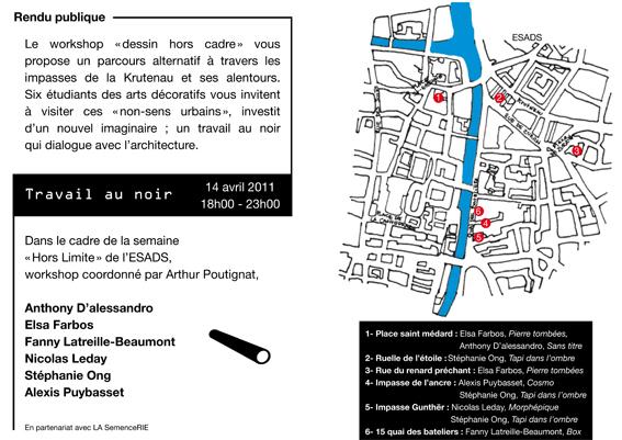 Parcours exposition dans les impasses du quartier de la Krutenau